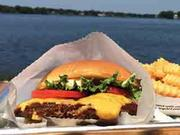Shake Shack started out as a hot dog cart but gained renown for its proprietary-blend hamburgers.