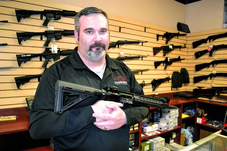 Ryan Pennock is one of the owners of Thunderbird Tactical.