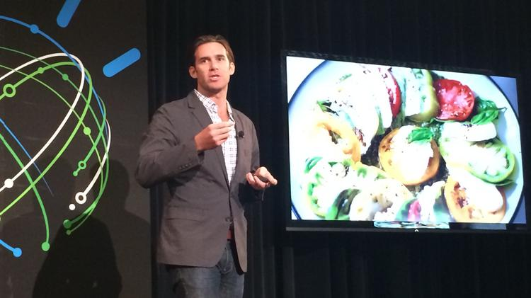 Jason Briscione, director of culinary development at the Institute of Culinary Education, explains how IBM Watson's discovery tool enables human chefs to quickly identify common chemical traits among thousands of ingredients, leading to new cooking innovations.
