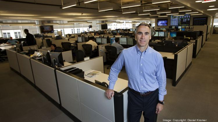 Bob Flexon, CEO and president of Dynegy Inc., at the company's Houston headquarters downtown.