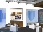A rendering of Blue Cross and Blue Shield's retail shop planned for Edina.