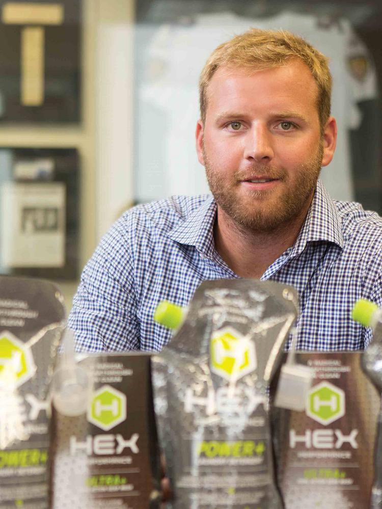 Drew Westervel is co-founder of Hex, a product designed to take the smell out of your gym clothes.