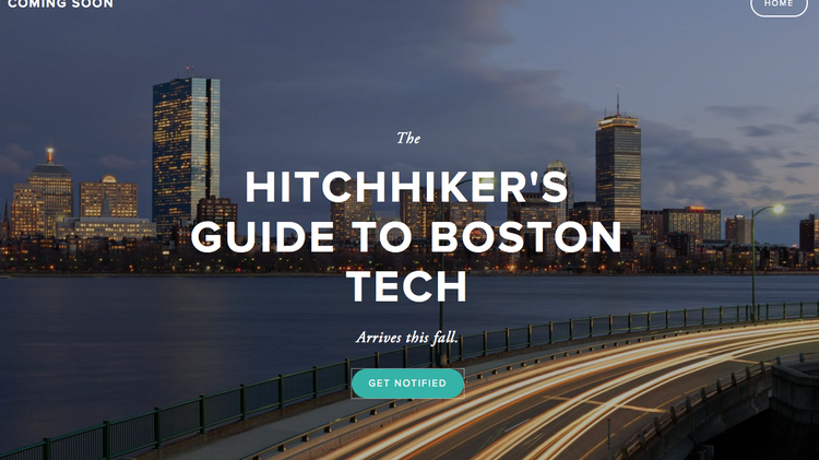 The ​Boston Tech Guide, a website aimed at curating content related to Boston's tech startup scene and the brainchild of venture capitalist Rob Go, is set to launch by the end of September.