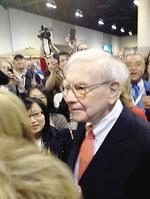 Buffett chats about Wells