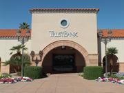The new TrustBank branch in Mesa.