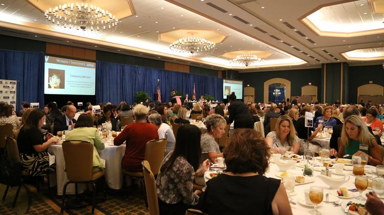 Guests gather to celebrate some of the best women leaders of Northeast Florida.