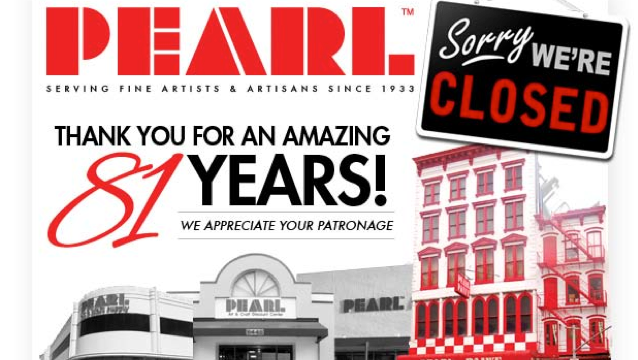 Pearl artist craft supply closes after 81 years in south for Pearl arts and crafts closing