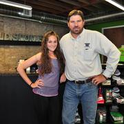 Catherine Austin and Alex Whittington are the owners of Run Wild Sports at 1900 Broadway.