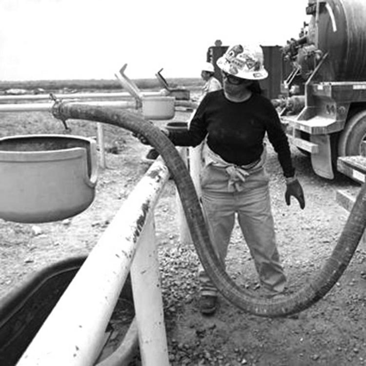 Finding ways to conserve water is a growing concern for companies involved in shale fracking.