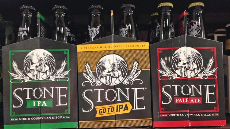 Stone Brewing is the 10th-largest craft brewer in the country.