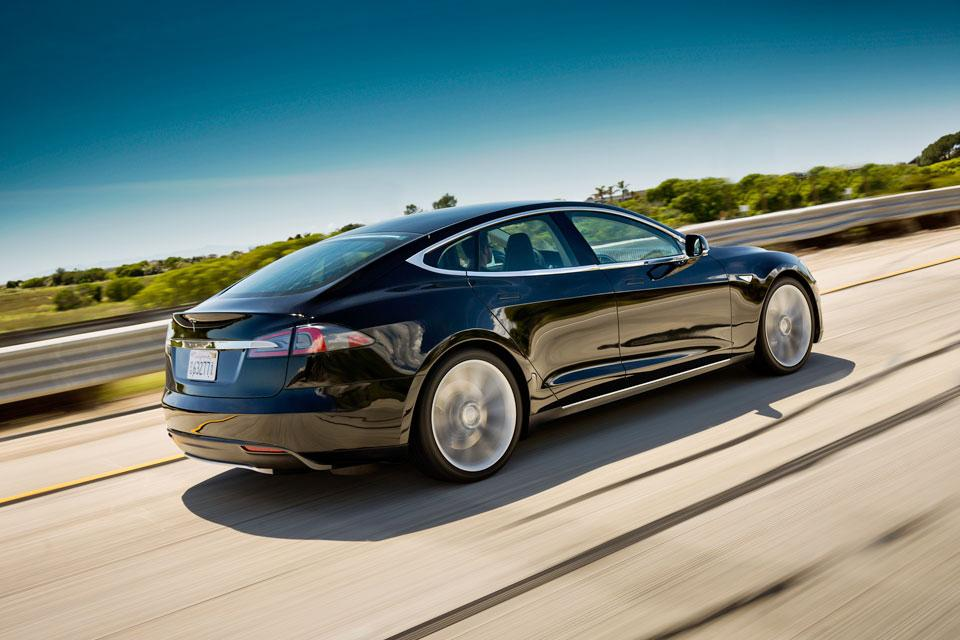 Tesla offers glimpse of Model S future - San Francisco Business Times