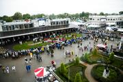 It was a rainy day at Churchill Downs for Derby, but that didn't stop more than 150,000 fans from attending.