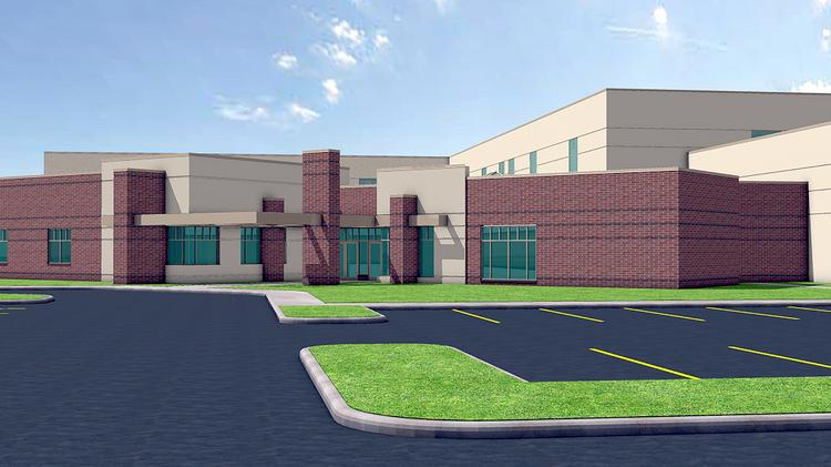 A rendering of the Engage Sports Complex.
