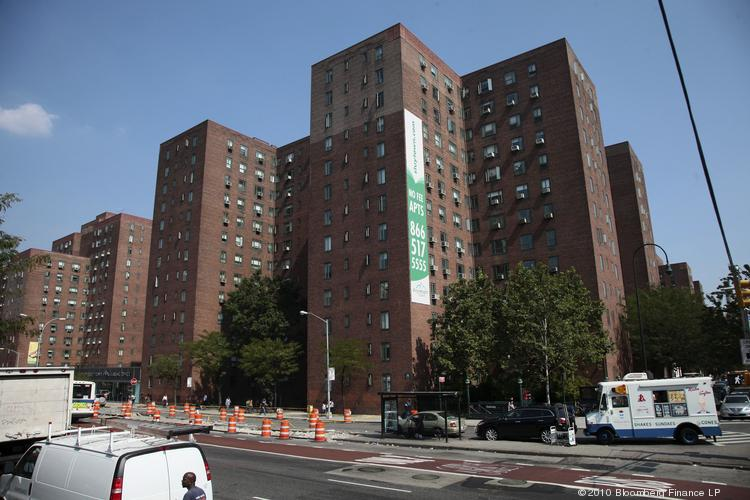 The Stuyvesant Town-Peter Cooper Village apartment complex.