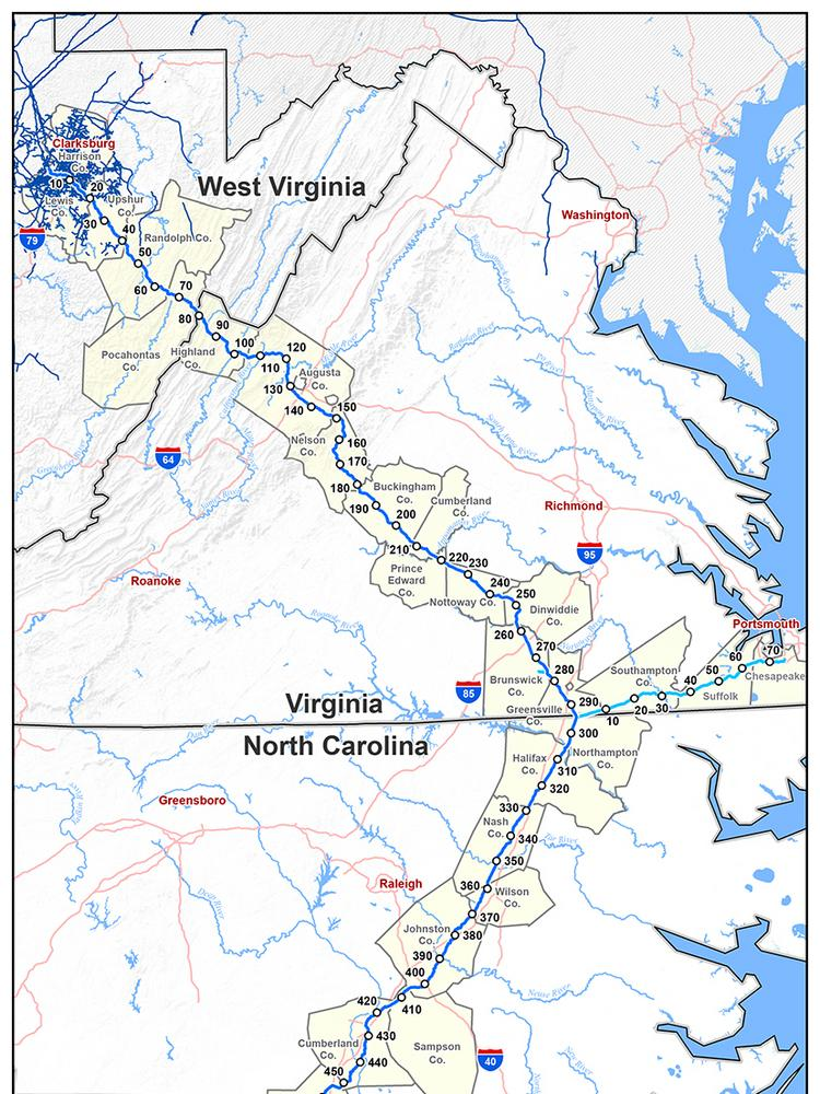 Atlantic Coast Pipeline opponents propose study in western ... on