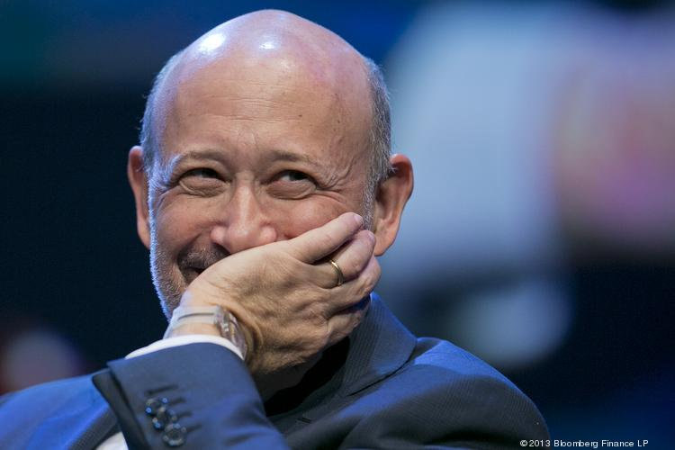 Lloyd Blankfein is chairman and chief executive officer of Goldman Sachs Group Inc.. Photographer: Andrew Harrer/Bloomberg *** Local Caption *** Lloyd Blankfein