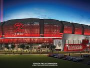 Exterior rendering of planned Toyota Field improvements