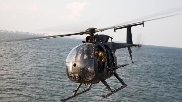 The Pentagon divvied out nearly a quarter of a billion dollars to The Boeing Co. to kick off a program to deliver 24 AH-6i aircraft Saudi Arabia. The aircraft is a light utility helicopter that in the U.S. is used to transport several combat troops.