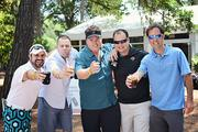 Anthony Saladino, Mike Lesso, Christopher Oehler, Scott Ravenscroft and Ian Hawkins at The Players Championship Thursday, May 9.