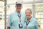 Larry and Della Faulkner at The Players Championship Thursday, May 9.