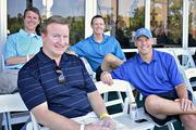 John Klopfenstein, Rick Kohn, Guy Patterson, Kevin Troup at The Players Championship Thursday, May 9.