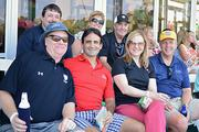 Patrick Magner, Margaret Magner, Mike Magby, Brian Pidgeon, Cheryl Howard, Robert Davis and Jeff Haggett at The Players Championship Thursday, May 9.