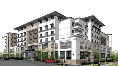 Oakland S Architectural Dimensions Designed The One Marina Hotel In Redwood City