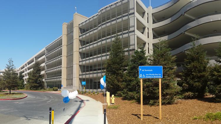Sacramento International Airport has added a new feature: A 1,100-foot pedestrian path from the airport's daily parking lot.