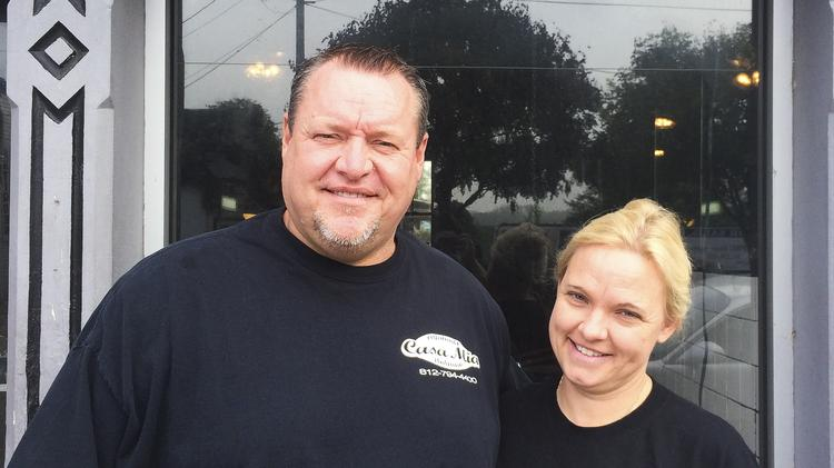 Cyle and Ulrike Mullikin are renovating a former rundown bar in New Albany and turning it into Don Vito's Italian Bistro, an upscale Italian restaurant.