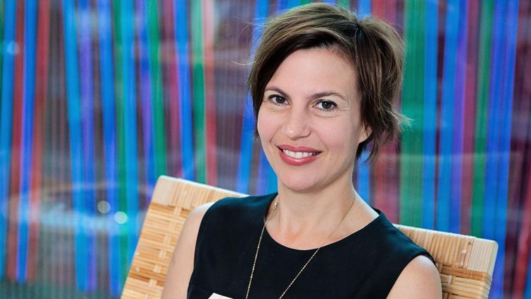 Raphaela Platow is director and chief curator at downtown Cincinnati's Contemporary Arts Center, which is celebrating its 75th anniversary this year.