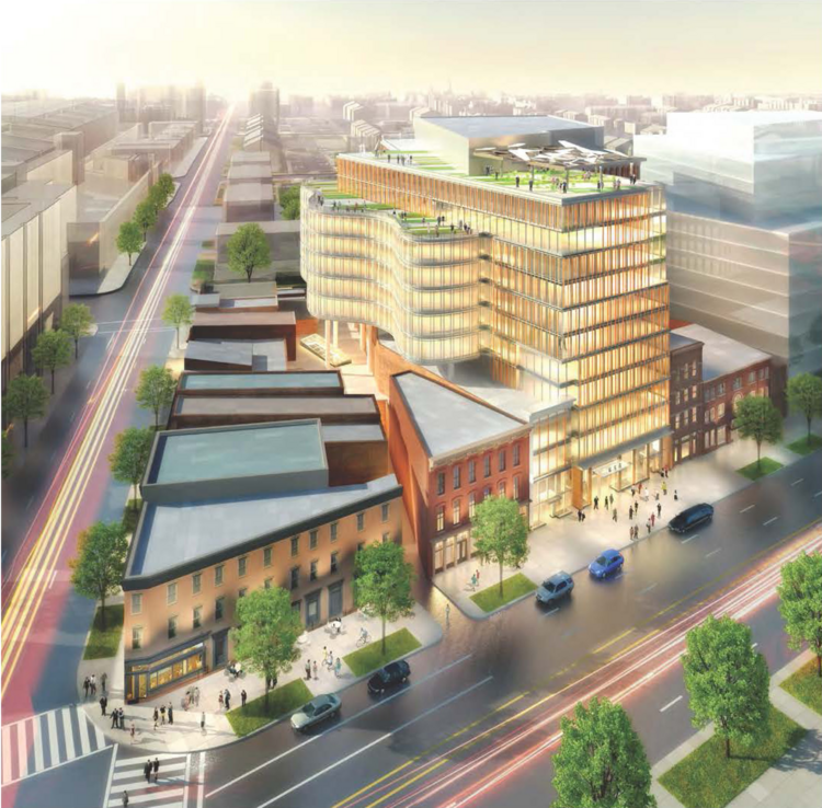 Douglas Development Corp. acquires additional sites for 655 New York Ave. NW, a 435,000-square-foot building it is planning to develop near Mount Vernon Square.