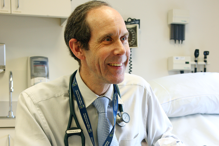 Dr. Brian Druker of the Knight Cancer Institute