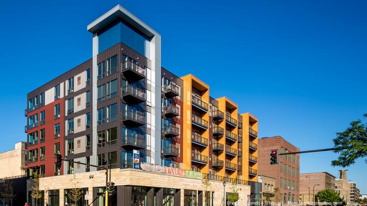 The Recently Completed 101 Unit Velo Apartments In Minneapolisu0027 North Loop  District Were Developed