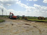 Site work has begun for America Place's second building, which will have 253,000 square feet.