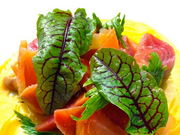 Bluehour's new executive chef will create such concoctions as this tasty-looking beet salad.