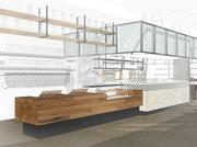 Stem, a Mediterranean-themed restaurant from Palo Alto-based food service company, Bon Appetit Management, will land at Alexandria Real Estate Equities Inc.'s building 499 Illinois Street, near the planned new Warriors arena.