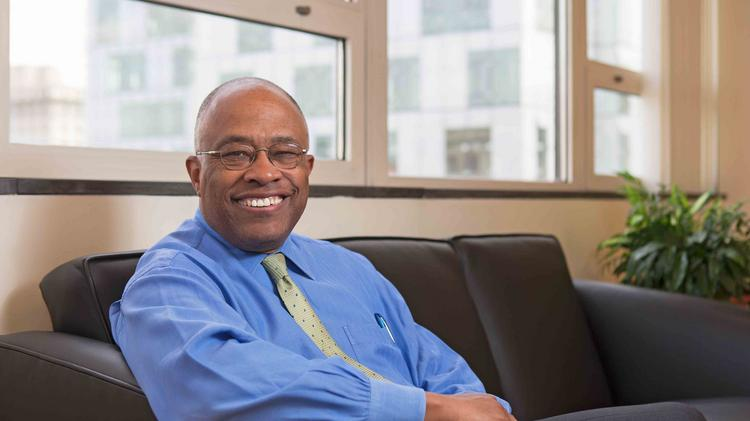 "Former Baltimore Mayor Kurt Schmoke assumed his new role as president of University of Baltimore on July 7. He's happy to be working in Baltimore again but doesn't really miss being mayor. ""When snow is on the ground and I don't have to move it, I'm happy Ms. [Stephanie] Rawlings-Blake is where she is."""
