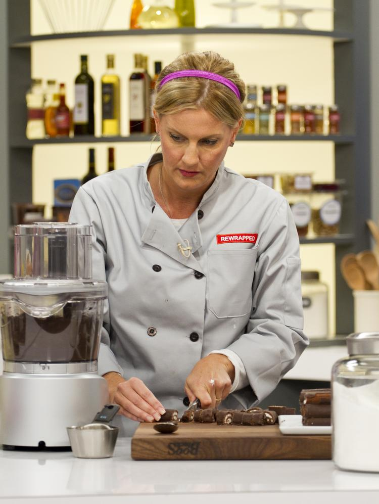 """Cupcrazed Cakery owner Heather McDonnell competes on the Food Network show """"Rewrapped."""" That episode airs Monday night at 8 p.m."""