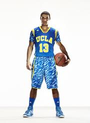 Here's a look at one of the new uniforms designed for the UCLA.