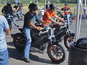 Worth Harley-Davidson is offering people an opportunity to ride Harley-Davidson's first hand built, non-production, custom electric motorcycle from Thursday through Saturday.