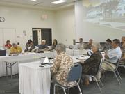 UH regents faced a sometimes hostile audience at Windward Community College in August, following the firing of UH Chancellor Tom Apple.