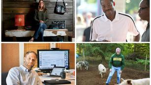 Upstarts to watch: The pig farming angel, the upcycler, and the would-be Google slayer