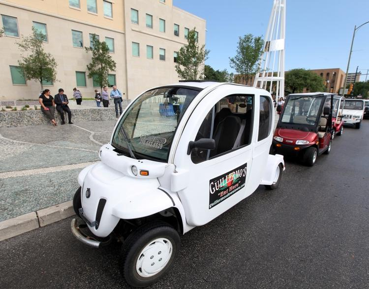 City Council approved an ordinance that allows owners of Neighborhood Electric Vehicles to park alongside city meters for free.