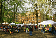 The Portland Farmer Market at Portland State University is open Saturdays between 8:30 a.m. and 2 p.m. One of the largest markets, the PSU location features more than 125 vendors.