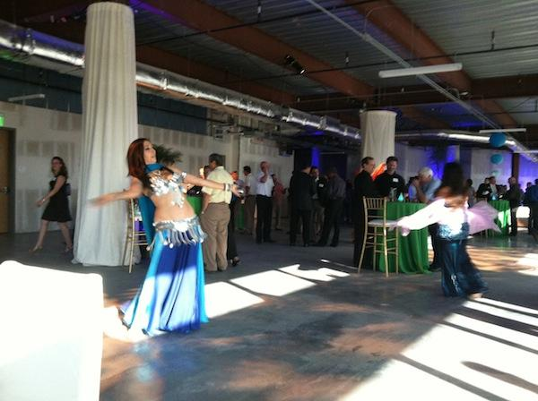 Data center company CyrusOne featured belly dancers at a recent open house for its new Chandler facility.