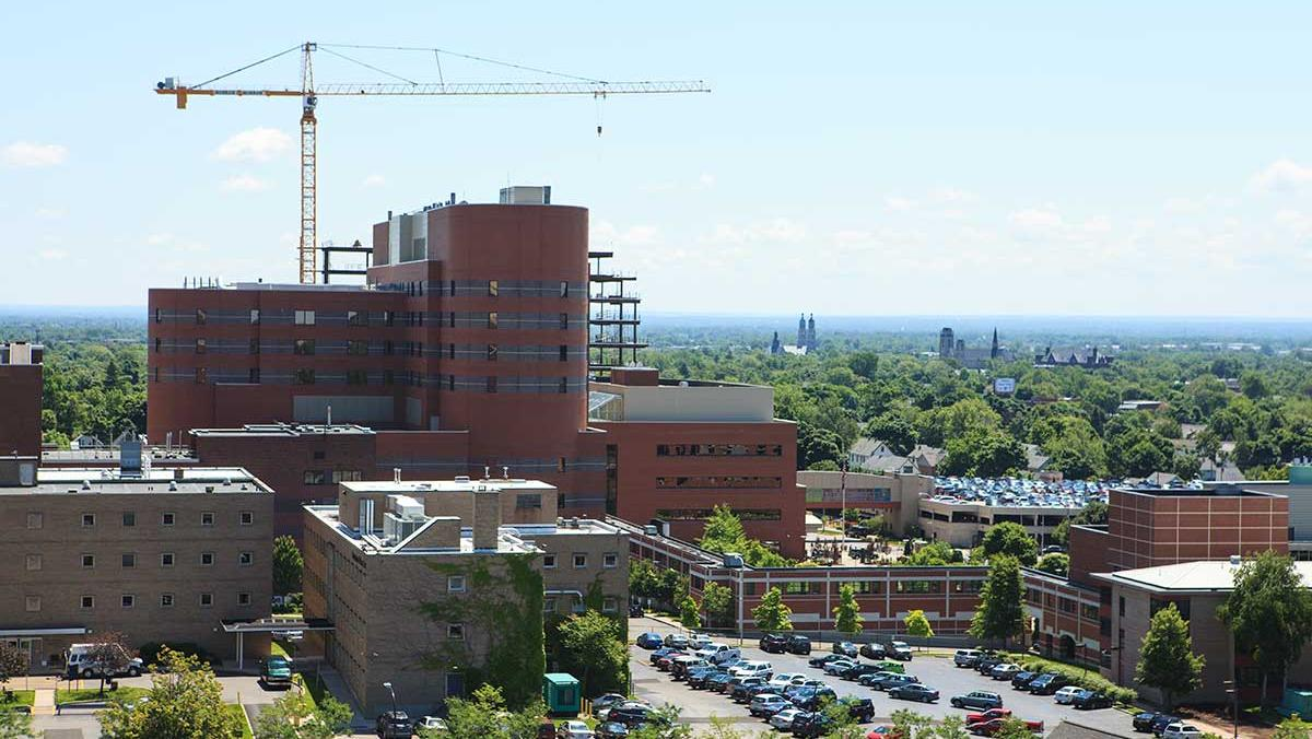 Buffalo Niagara med campus melding life sciences, business ...