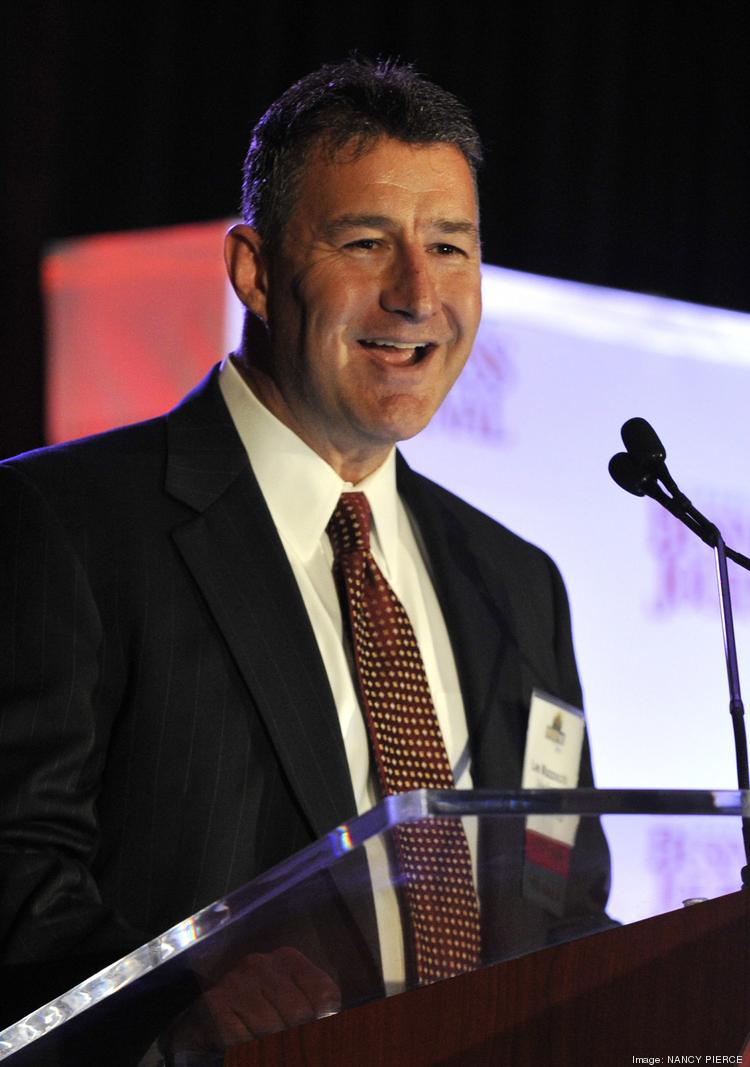 Duke Energy's Lee Mazzocchi is pictured here at a Charlotte Business Journal event.