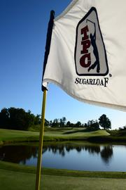 Sugarloaf Golf Club before the start of the Atlanta Corporate Golf Challenge.
