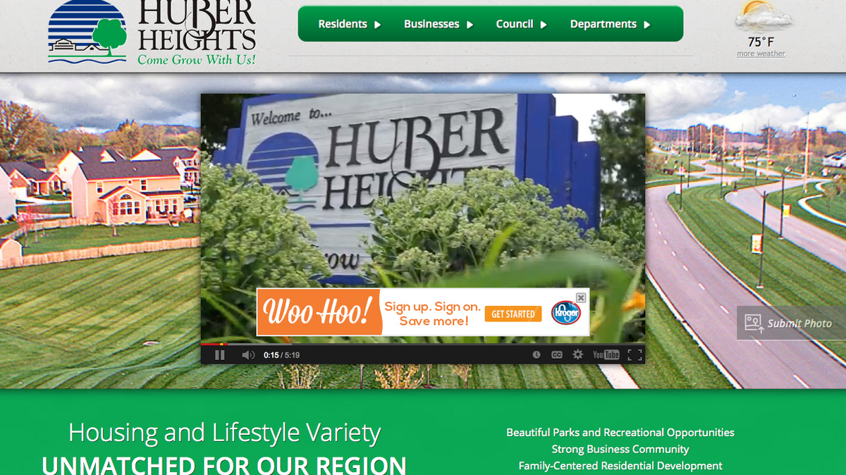 100m Huber Heights Mixed Use Center Planned For 2018 Dayton Business Journal