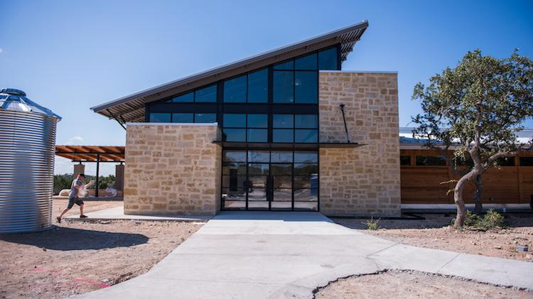 Deep Eddy Vodka has agreed to move its distilling operations from a 27,724-square-foot facility in Dripping Springs, pictured, to a much larger 194,000-square-foot building in Buda, to the east.